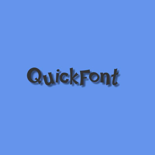 Cross-platform font rendering library